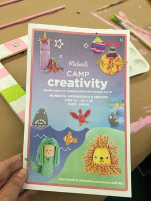 2019 Michaels Camp Creativity