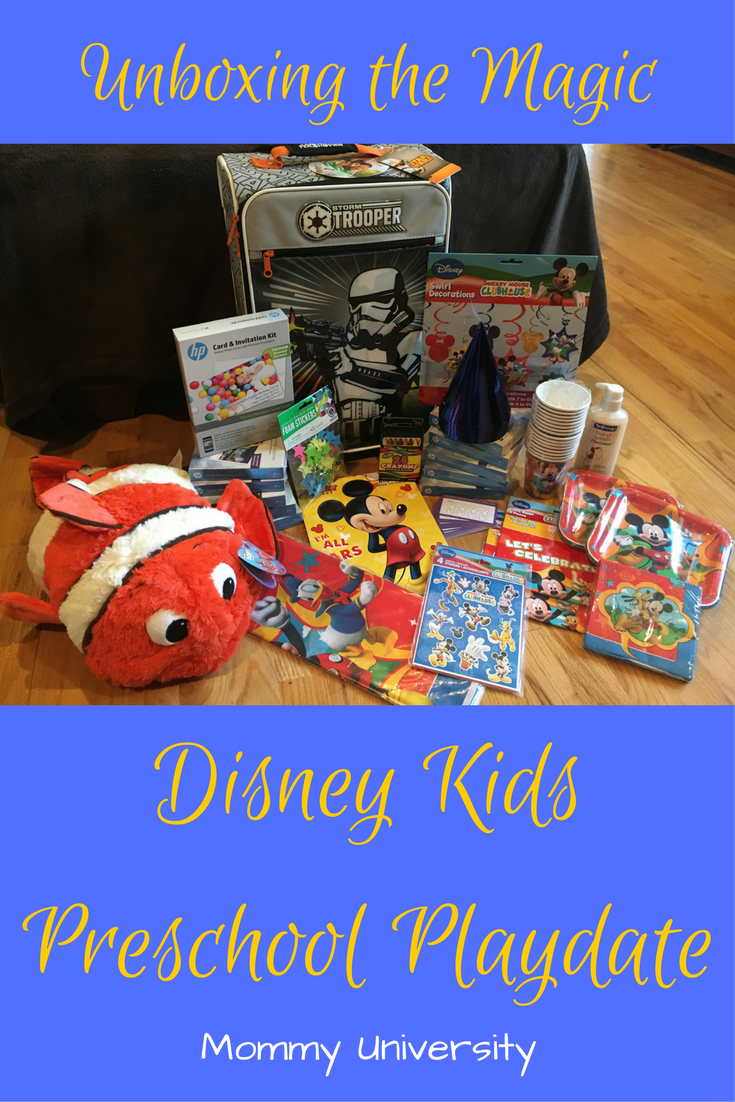 Unboxing the Magic_ Disney Kids Preschool Playdate