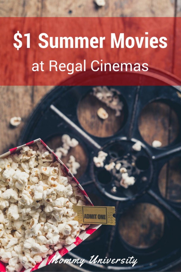 Regal Cinemas Summer Movie Express