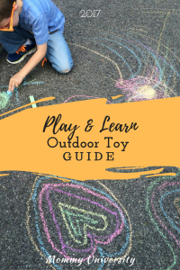 Outdoor Toy Guide 2017