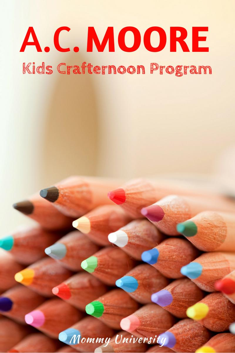 AC Moore Kids Crafternoon