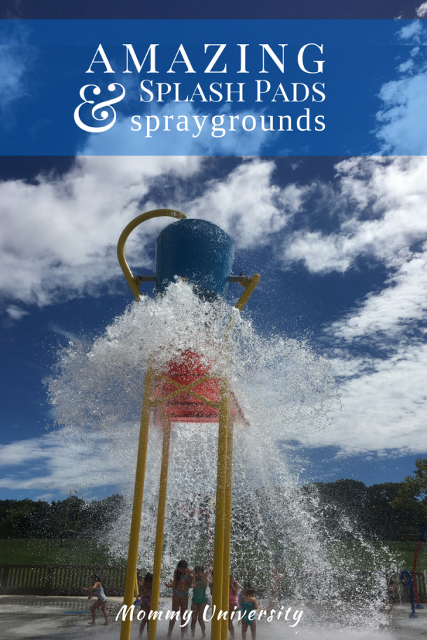 Amazing Splash Pads and Spraygrounds in New Jersey