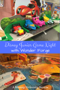 Disney Junior Game Night with Wonder Forge