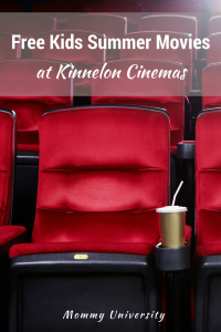 Free Kids Summer Movies at Kinnelon Cinemas