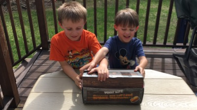 Kids Opening Walt Life Box
