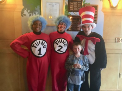 Cast of The Cat in the Hat at The Growing Stage