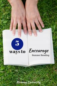 5 Ways to Encourage Summer Reading