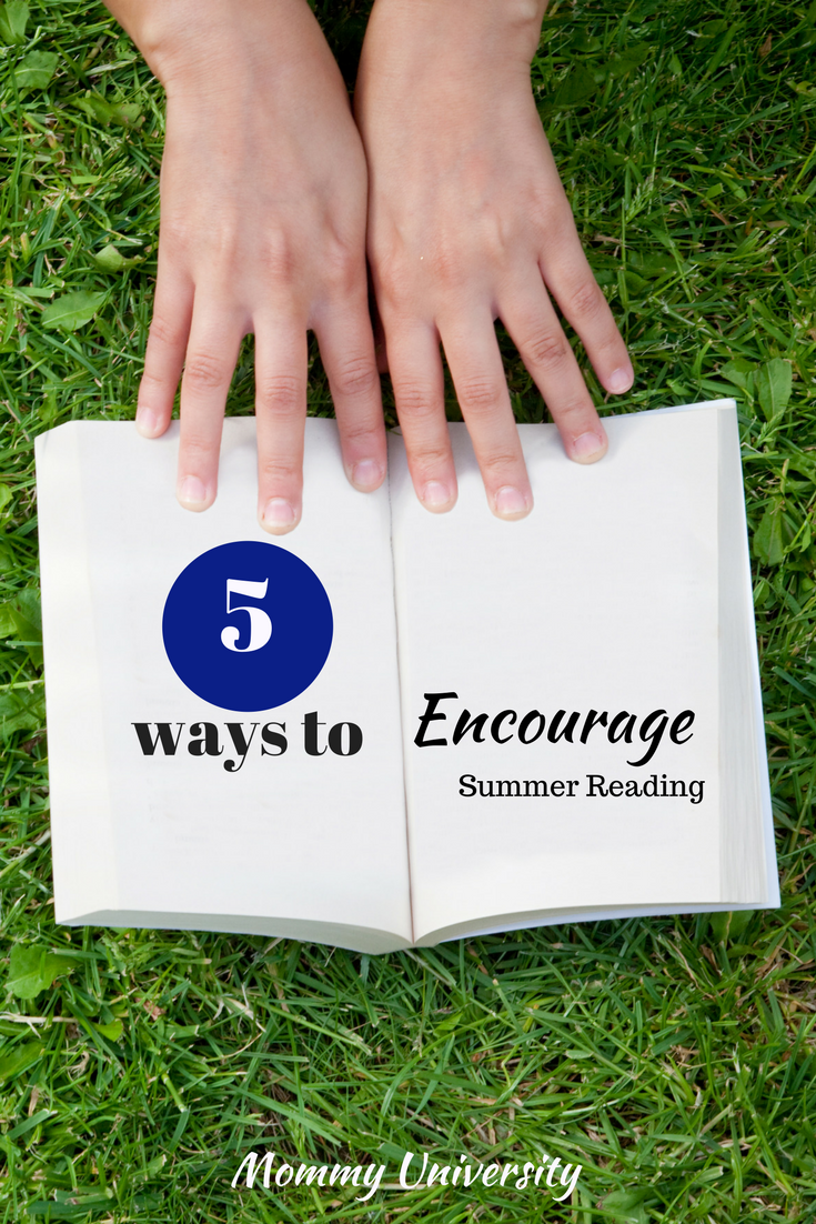 5 Ways to Encourage Summer Reading
