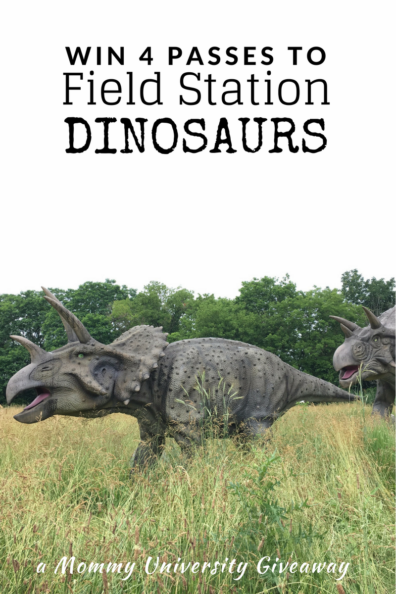 Win 4 Passes to Field Station Dinosaurs | Mommy University