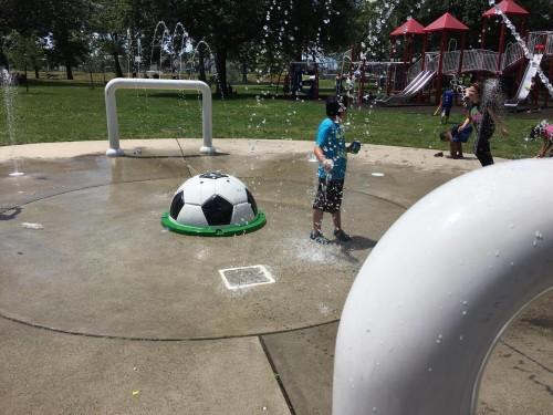 Mattano Park Splash Pad