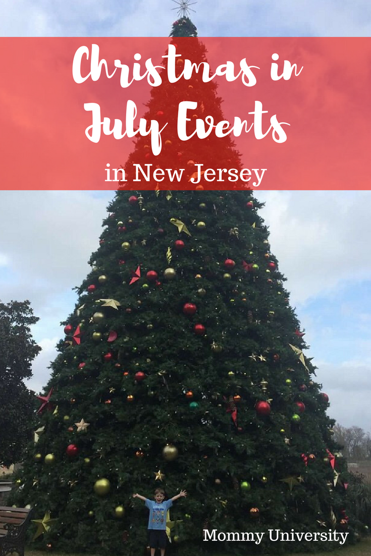 Christmas in July Events in NJ