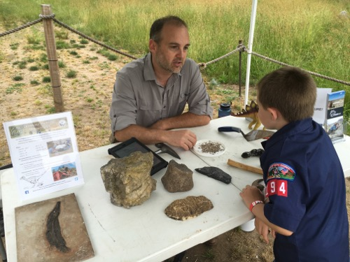 Meeting a Paleontologist at Field Station