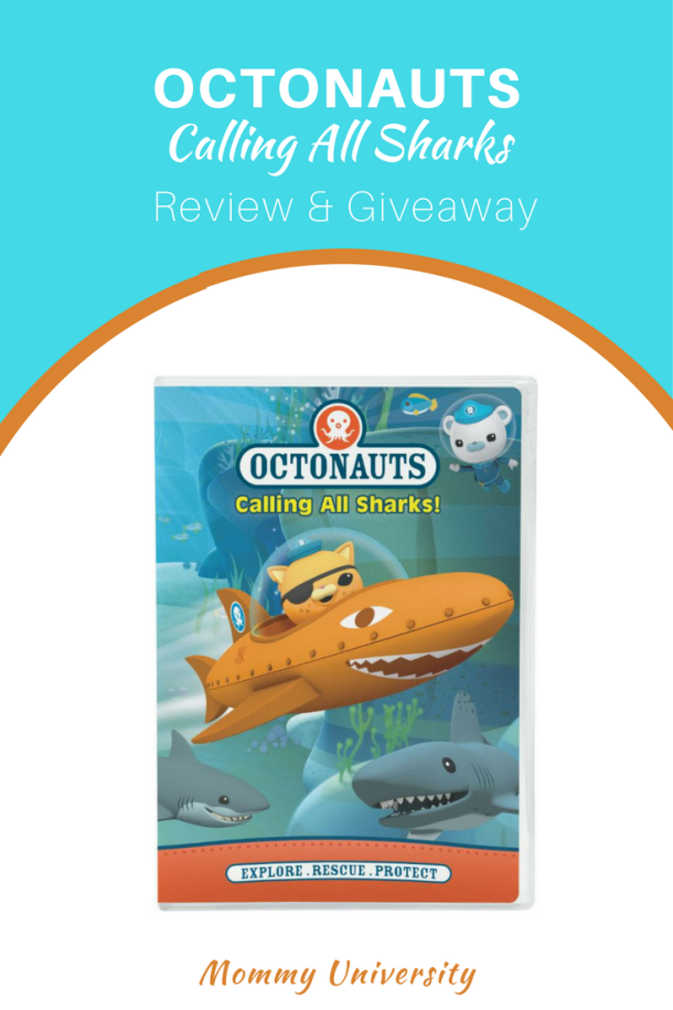 Octonauts Calling All Sharks Giveaway
