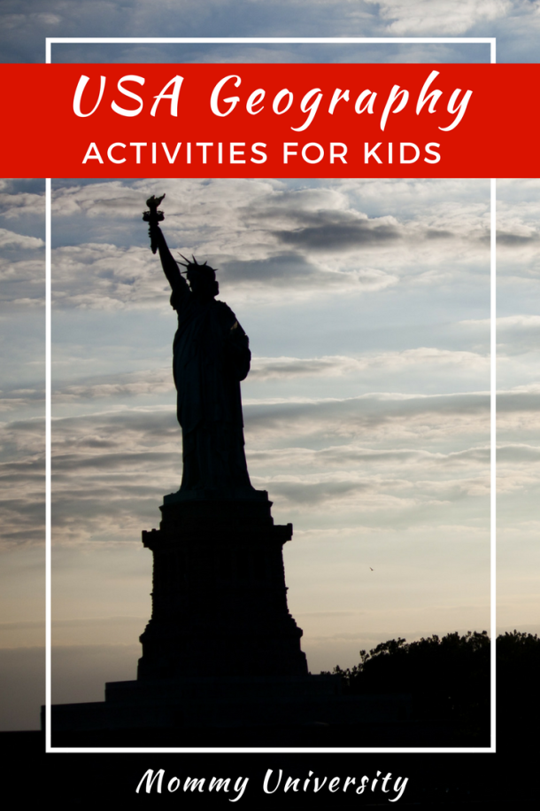 USA Geography Activities for Kids