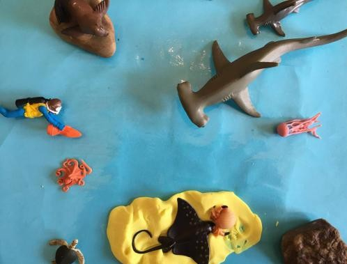 Shark Week Tinker Tray