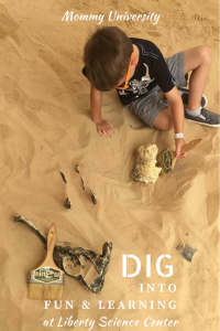 Dig Into Fun and Learning at Liberty Science Center