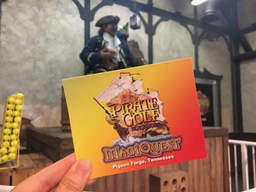 MagiQuest Pirate Golf