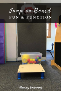Jumping Board from Fun & Function
