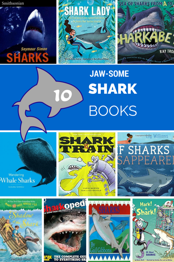 Awesome Shark Books