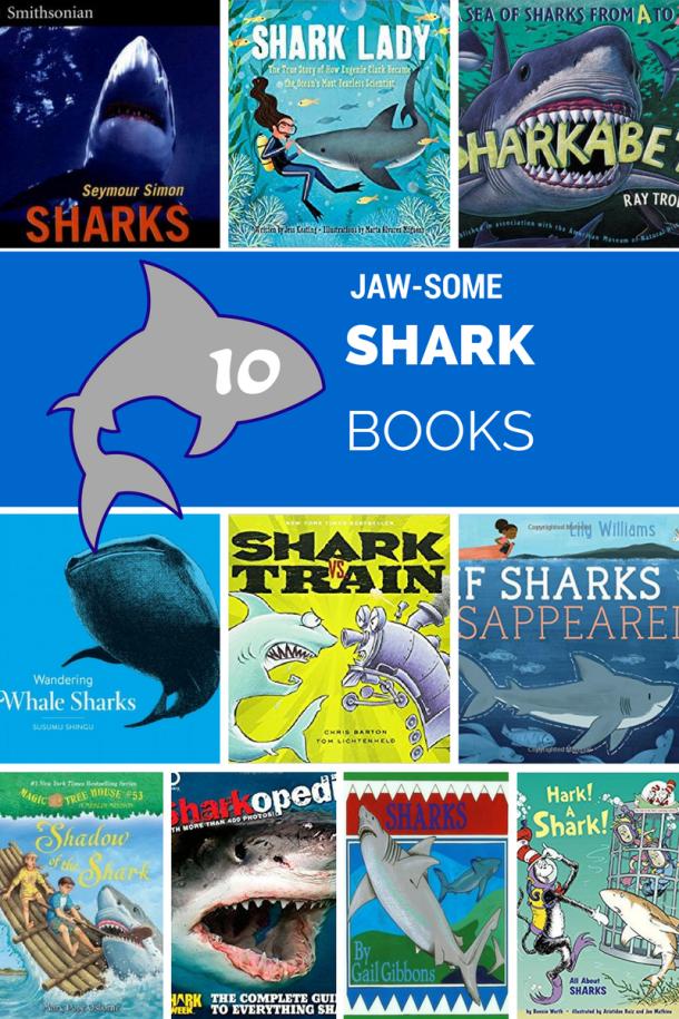 Awesome Shark Books