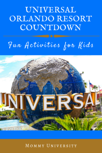 Universal Orlando Resort Countdown