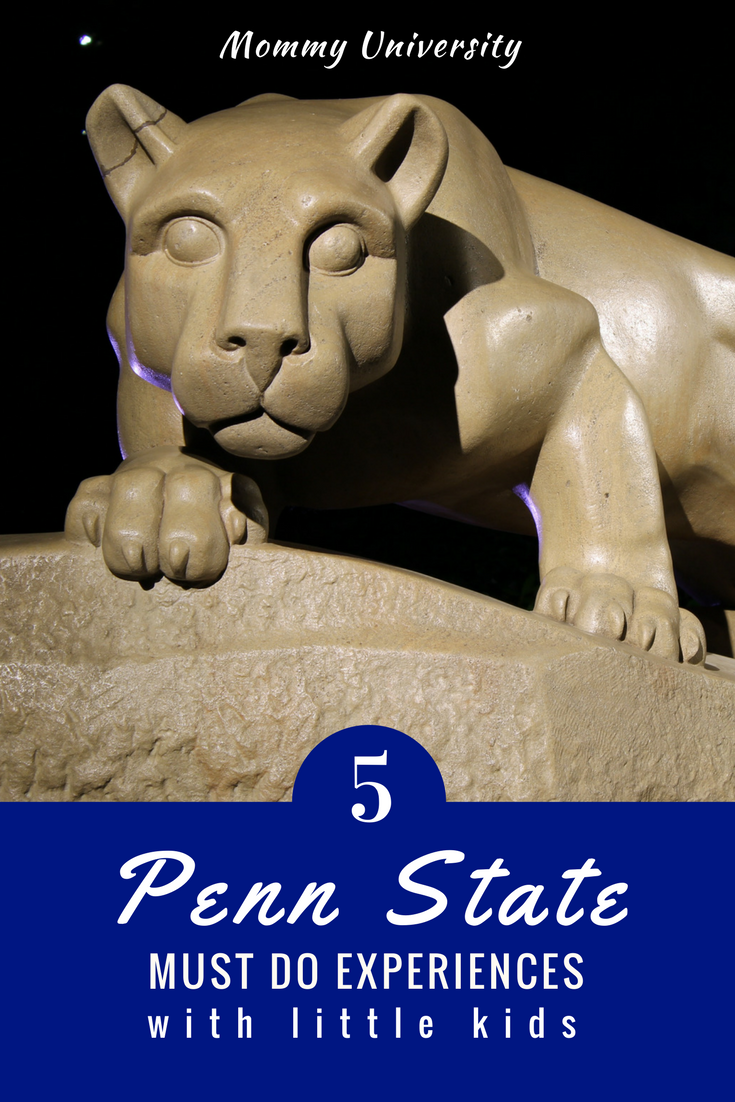 5 Penn State Must Do Experiences with Little Kids