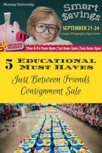5 Educational Must Haves at JBF
