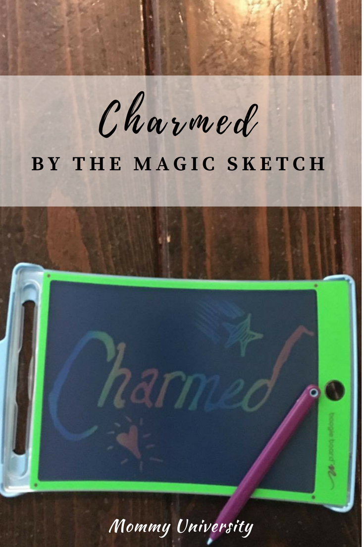 Charmed by Magic Sketch