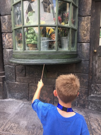 Casting Spells at Universal Orlando Resort