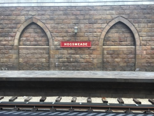 Hogsmeade Station at Islands of Adventure