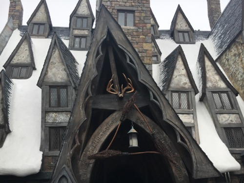 Three Broomsticks at Hogsmeade