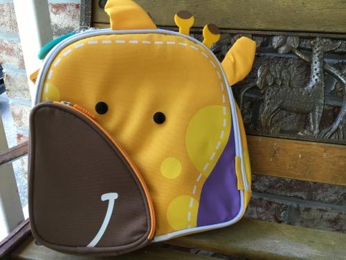 Giraffe Lunchbox Backpack