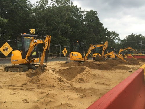 Big Diggers at Diggerland USA