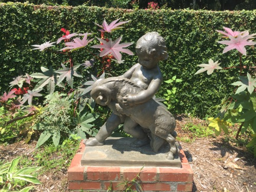Child Sculpture at Brookgreen Gardens