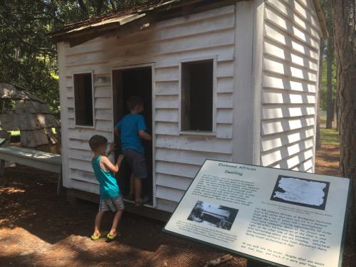 Enslaved African Dwelling at Brookgreen Gardens