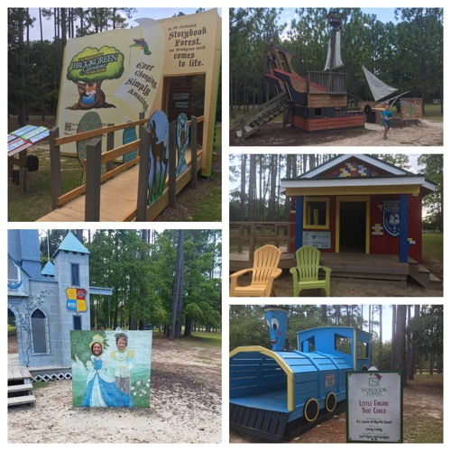Enchanted Storybook Forest at Brookgreen Gardens