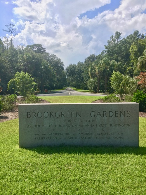 Entrance to Brookgreen Gardens