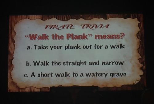 Pirates Voyage Trivia