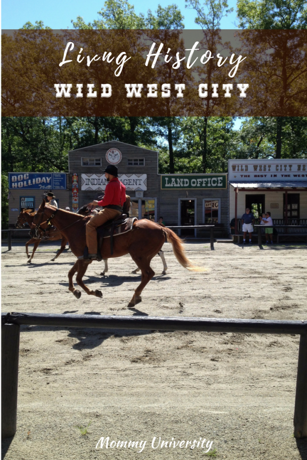 Living History at Wild West City