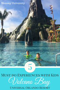 5 Must Do Experiences at Volcano Bay