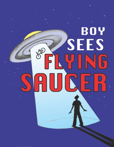 Boy Sees Flying Saucer at The Growing Stage
