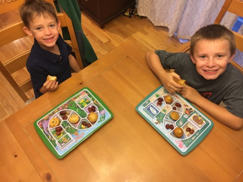 Breakfast Time with Dinner Winner Trays
