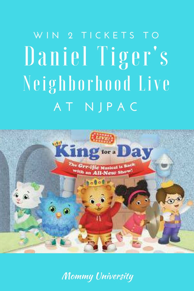 Daniel the Tiger Giveaway
