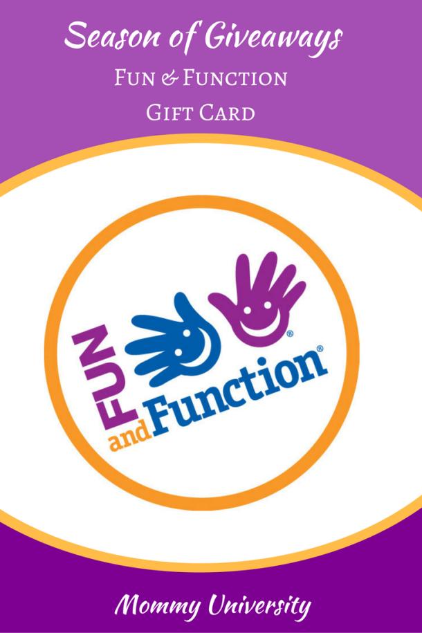Season of Giveaways Fun & Function