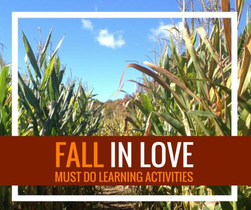 fall activities sidebar