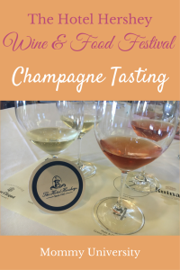 Champagne Tasting at The Hotel Hershey Wine and Food Festival