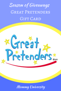 Season of Giveaways: Great Pretenders