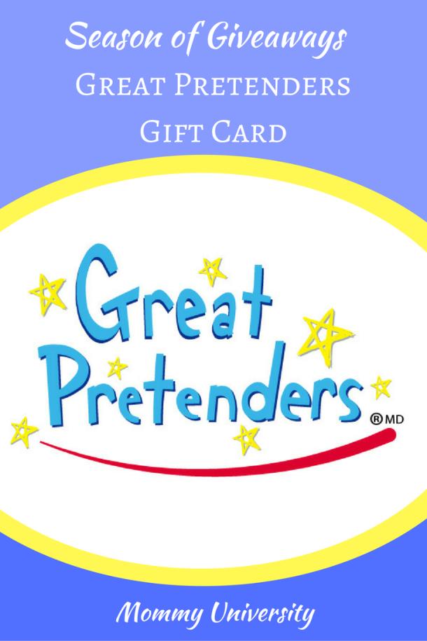 Season of Giveaways: Great Pretenders