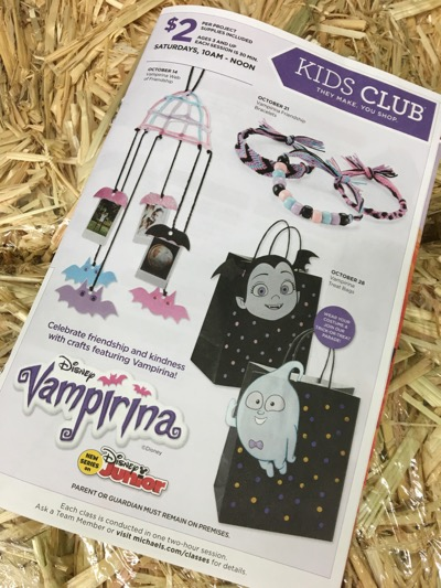Michaels Vampirina Crafts