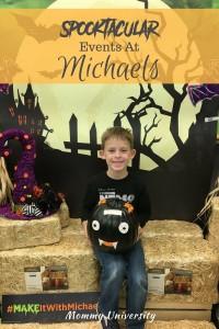 Spooktacular Michaels Events